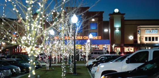 ...,  Annual Holiday Lighting Celebration at Biltmore Park Town Square
